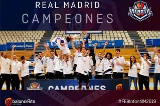 FINAL #FEBinfantilM2019: O Real Madrid consegue o triplete nunha final espectacular