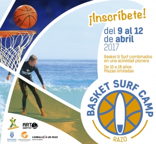 "Nace o ""Basket Surf Camp Razo"""