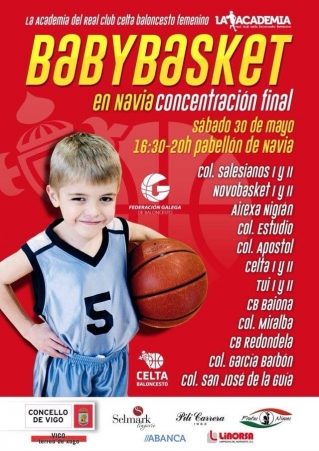 "Real Club Celta despide a temporada do ""BABYBASKET"""