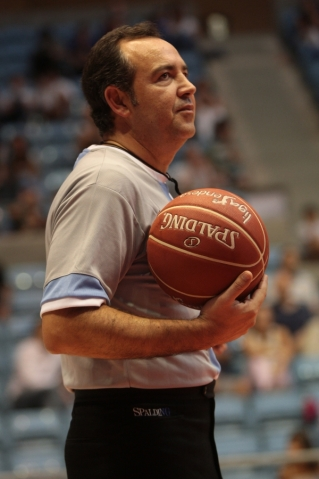 O Director Técnico do CGAB, na Final Four da Eurochallenge